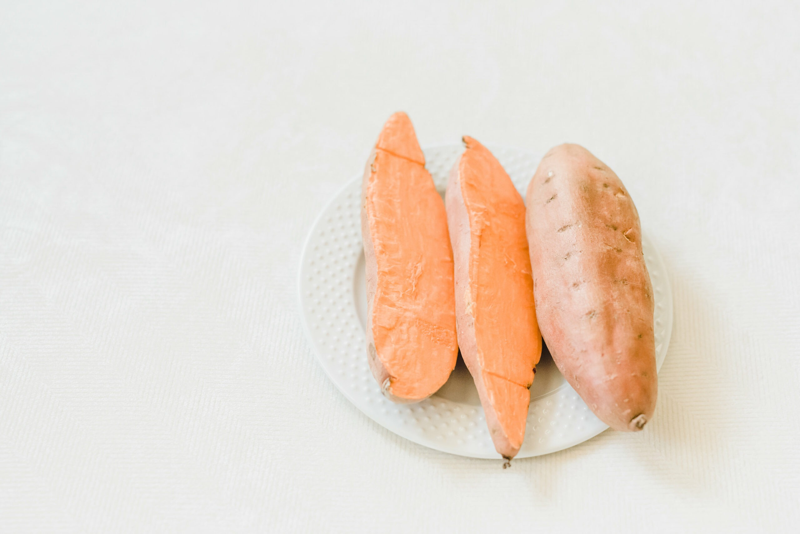 Sweet potato beauty food for healthy skin